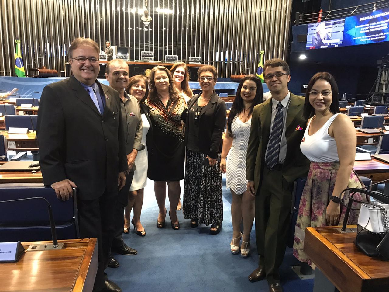 CREA/DF em sessão solene no Senado Federal
