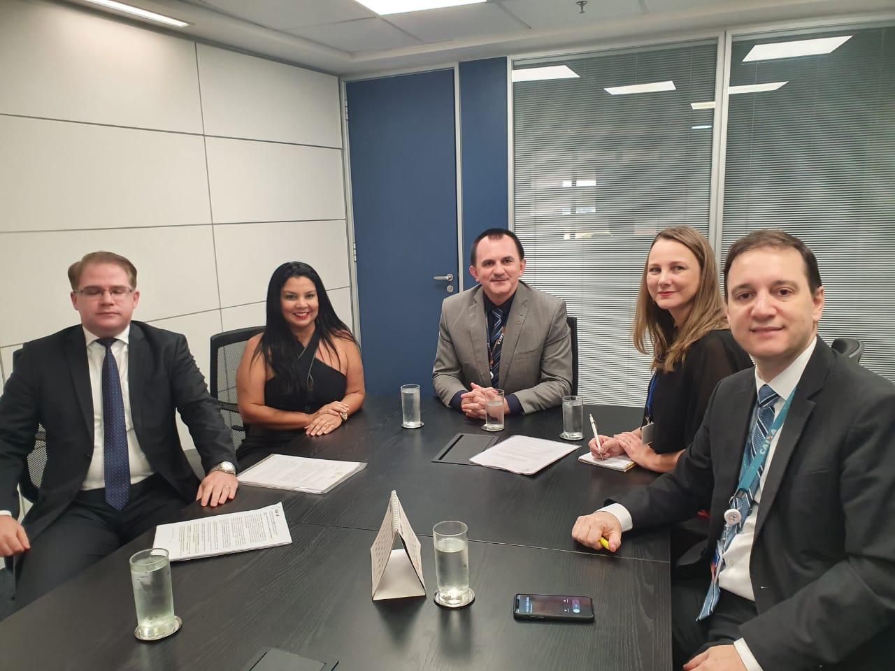 Reunião com a cúpula da Caixa Econômica Federal