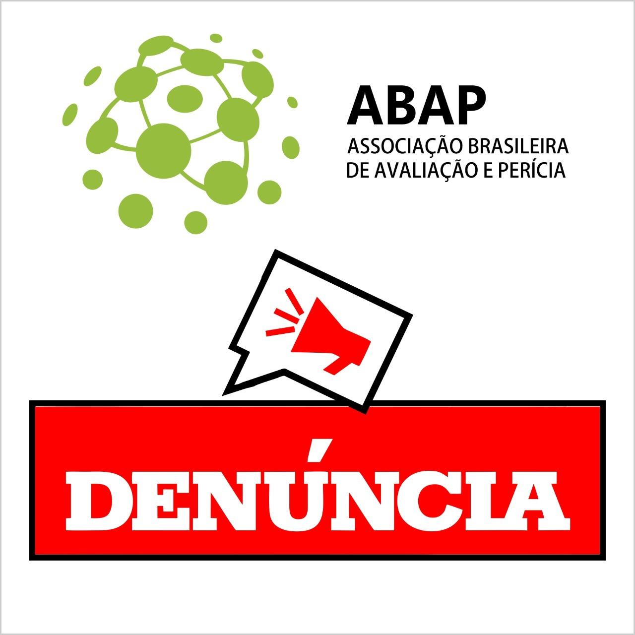 ABAP agindo em prol do Engenheiro/Arquiteto avaliador de imóveis